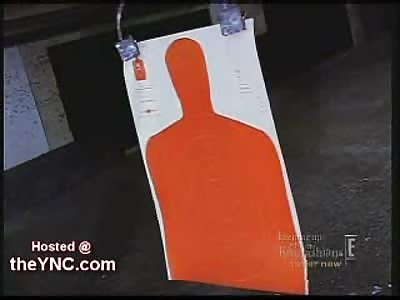 Kim Kardasian & Her Hot Ass Sisters Shooting Guns at the Shooting Range
