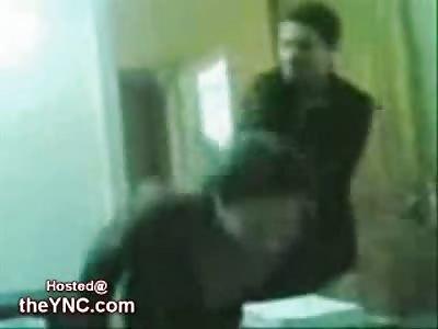 Interrogation by Slapping