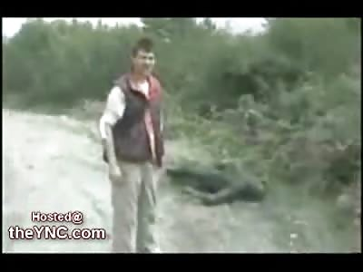 Journalist identifies an Allegded US Soldier in South Ossetia