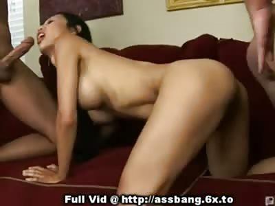 Hot Asian Girl Loves Being Man Handled