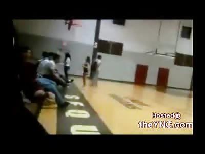 Bully Jock Beats the Nerdy Kid