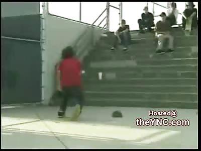 LMAO: Kid Rips his Balls in Half...Goes Berserk