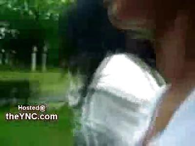EVIL Teenager Humiliates and Chokes Timid Victim