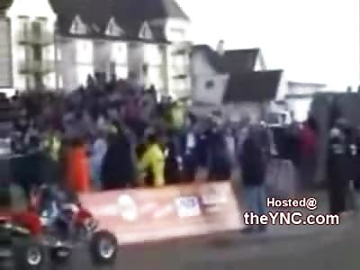Great Stunt.....Horrible Landing