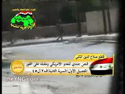 US Soldier Killed Today in Salah al-Din