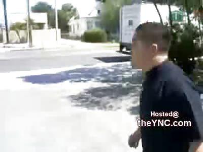 Vicious Quick  KO Leaves Kid Unconscious