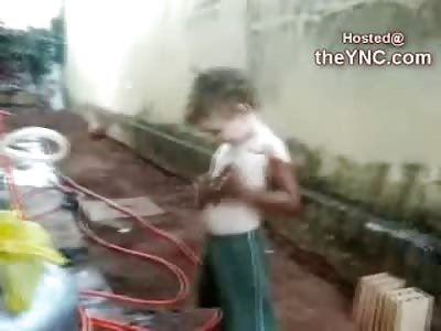 Cute Brazilian Kid wants to Black Really Really Bad