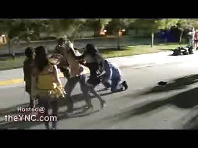 GI Joe KO's Plain Clothes Civilian in Halloween Street Fight