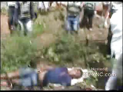 Motorcycle Crash Leaves Dude Dead as a Doornail