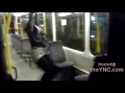 LOL: Stupid Drunk Bitch Falls on Her Ass