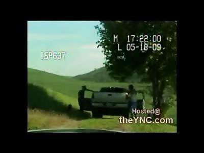 Crazy White Man Cop Kills Drunken Indian in Violent Confrontation (Watch Full Video)