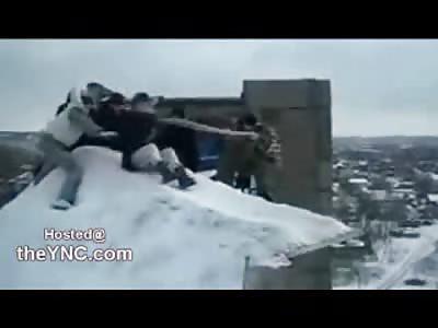 LMFAO: Kids Throw Girl off 5 Story Building