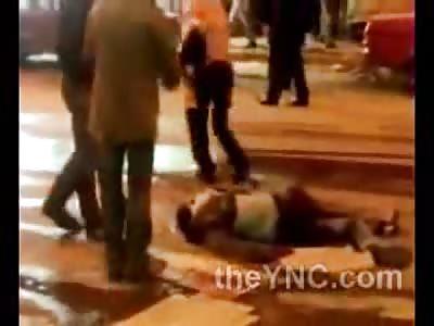 Murder in Front of Cinema Yesterday in Alexandria