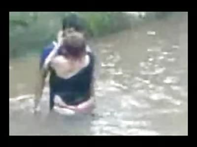 River public sex video