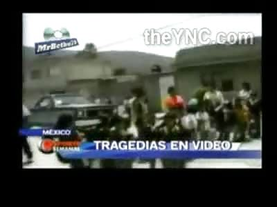 TRAGIC: Derranged Mexican Man Purposely Runs Over Kindergarten Children Killing Two