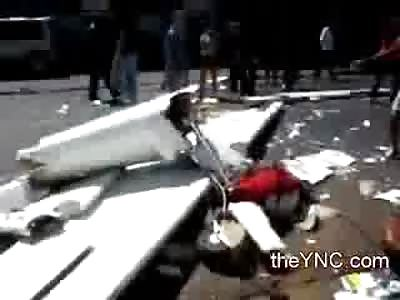 Pilot of Aircraft Dead in the Street? Its not a Landing Strip