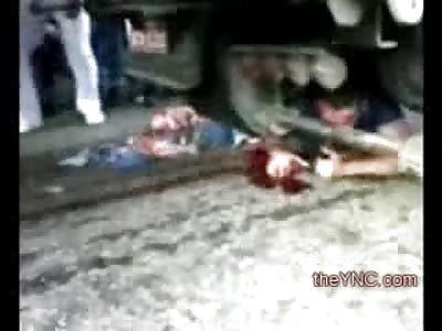 Wide Awake Nightmare: Boy on a Motorbike Still Alive trapped under Truck