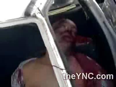Shirtless Man Dies Bloody Death