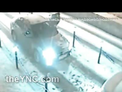 Russian Man Gets Beaten to Bloody Pulp After Gun Doesn't Fire