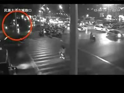 Drunk Driver Plows Through Intersection, Flees Scene