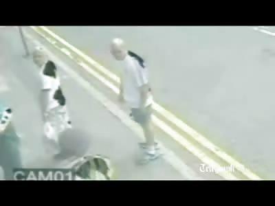 Traffic Warden Kicked in the Head in Random Violent Attack