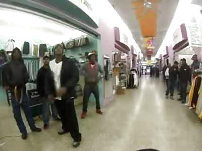 Crazy Mall Cop is Back! Tases another Thug Drug Dealer