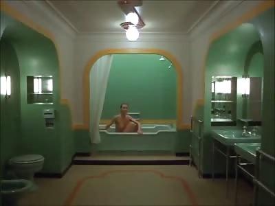 Nude Bathtub Scene from The Shining....