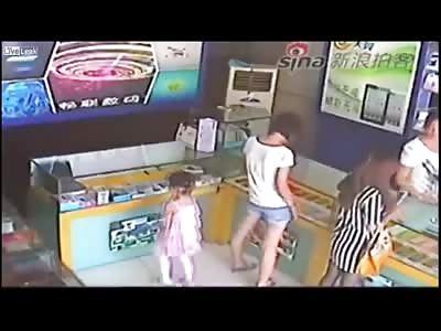 Future Jailbird 3 Year Old Girl steals an iPad