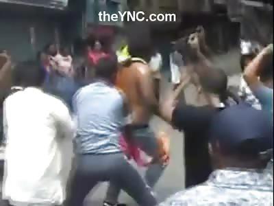 Man Sets Himself on Fire and then Dances like Michael Jackson