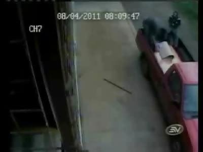 Brutal Murder in Broad Daylight .... Gunned Down like a Dog