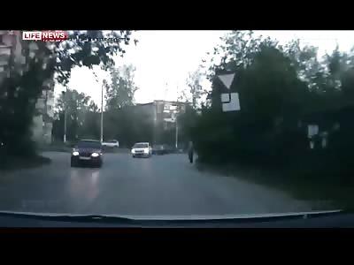 Very Unlucky Pedestrian Fatally Struck......Wrong Place, Wrong Time