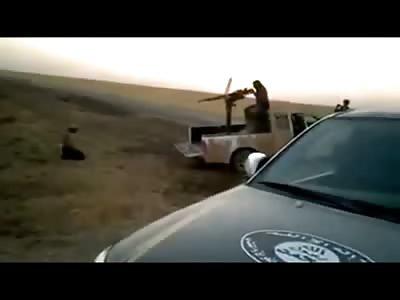 Brutal .50 Caliber Execution at Close Range Explodes Mans Head