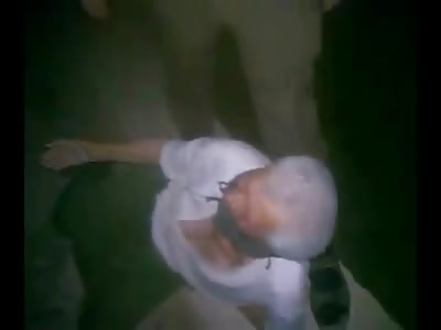 New Brutal Beheading of Blindfolded Begging Elderly Man