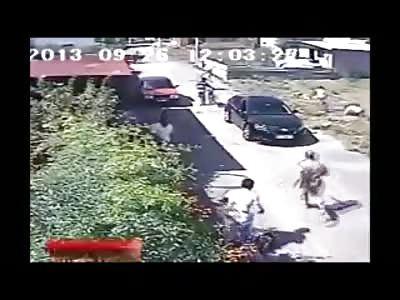 Three Men are Shot in Bizarre Turkish Gang Fight