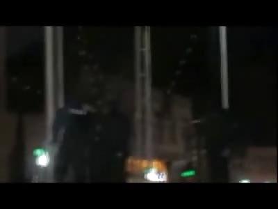 Nighttime Public Hanging Execution