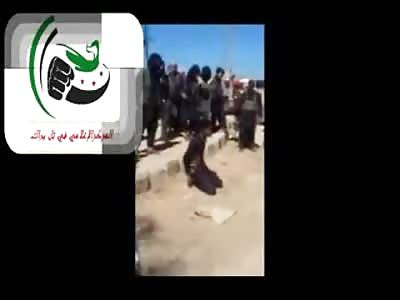 Public Pistol Execution Excites the Crowd