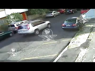 Brazen Day Time Murder Caught on CCTV