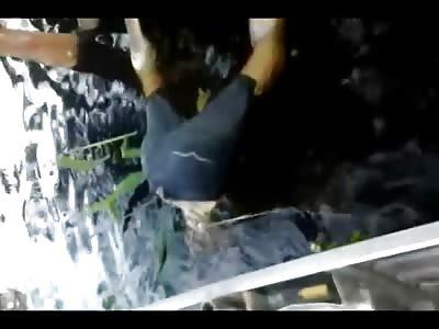 Shocking Video Shows Man Eaten Alive by Piranhas (2 Videos)