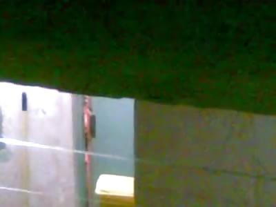 Peeping Tom Weirdo Films his Hot Female Neighbor in her Bathroom