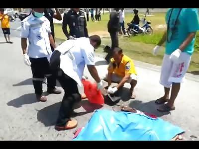 Womans Dead Body is Revealed