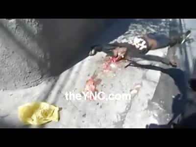 Better Quality Footage of the Unlucky Drug Dealer that Got a Hair Cut