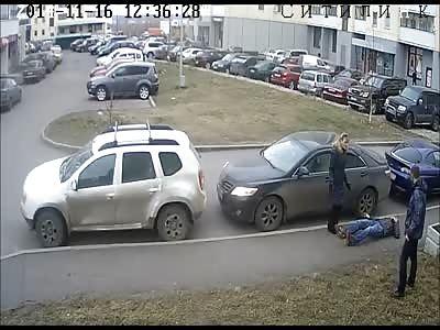 RAGE: Parking Dispute Ends in a Brutal Beating