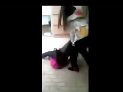 14-Year-Old Girl Getting Beaten (Spain)