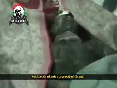 Syrians burnt to crisp