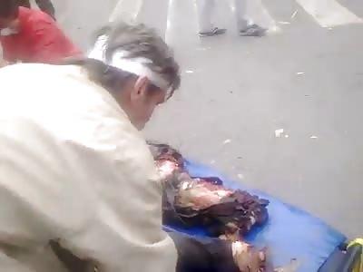 Lugansk Airstrike aftermath 5-6