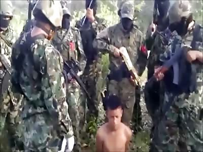 mexican cartel behead teen boy!BRUTAL!!!