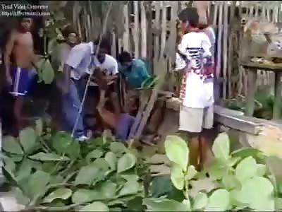 double death in electric shock in Brazil!!! morte dupla em choque elétrico no brasil
