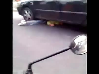 Thief bike is hit by victim