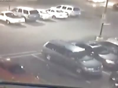 Pedestrian Struck by Drunk Driver in Walmart Parking Lot