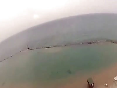 Paragliding Crash in Israel (POV)